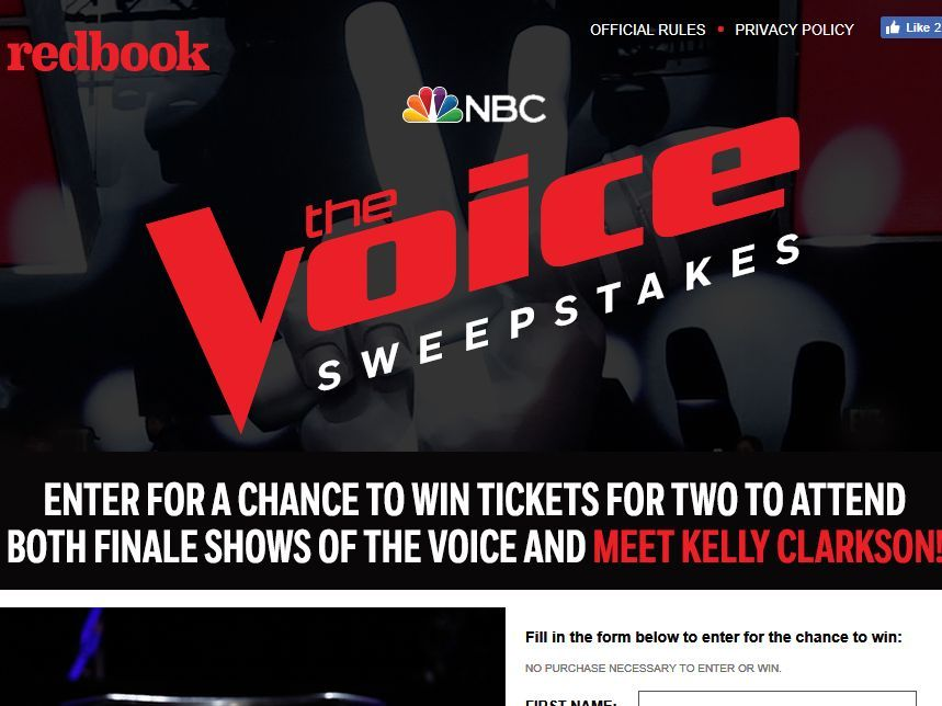 Win $1500 sweepstakes