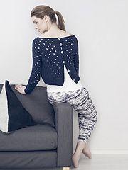 Ravelry: 44. Naisen pitsineulepusero pattern by Susanna Mertsalmi
