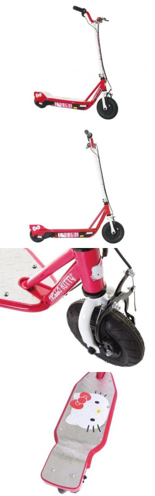 Other Scooters 11329 Hello Kitty Su Electric Scooter Pink White