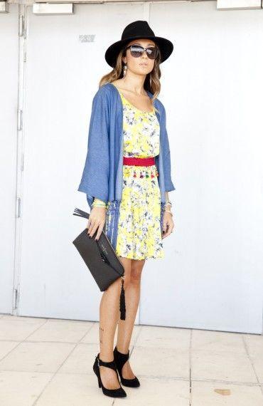 Rocío Martínez - Madrid Fashion Week Street style MBFWM (Día 1) | telva.com