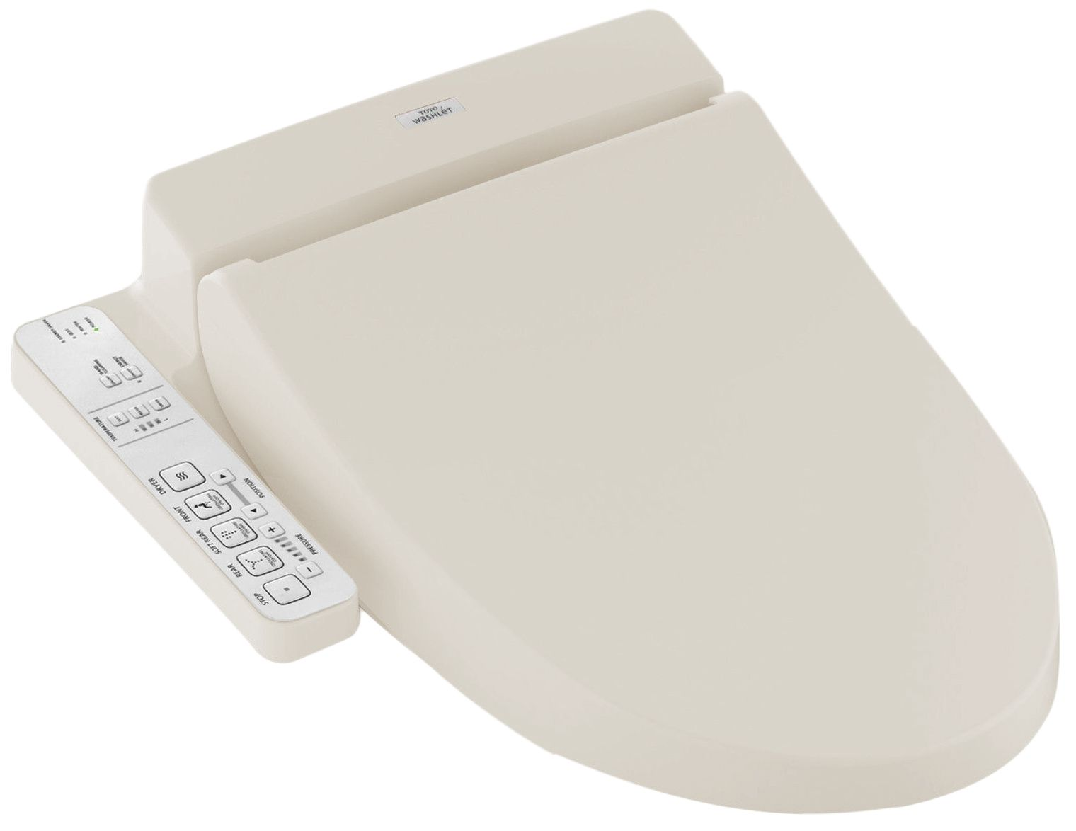 Toto Washlet C100 Electronic Bidet Toilet Seat With Premist