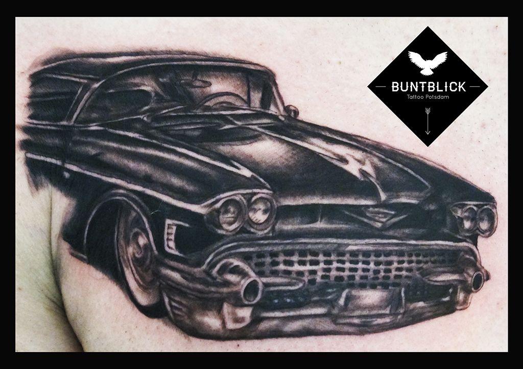 Cadilac Tattoo by Björn (Buntblick Tattoo Potsdam) - http://www.buntblick-tattoo.de/