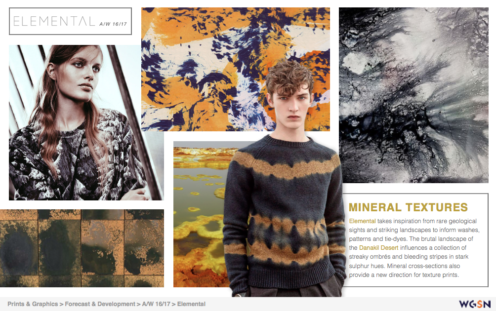 Concept Research | WGSNI looked to WGSN for trend research ...