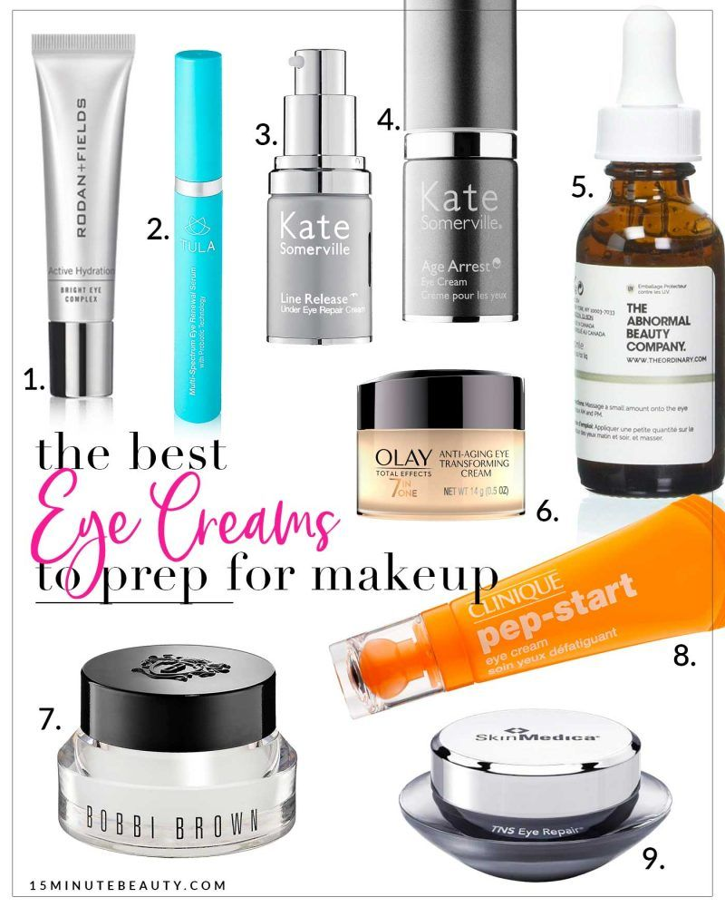 The Best Eye Creams For Under Makeup 15 Minute Beauty Fanatic