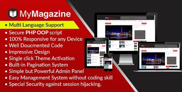 nice MyMagazine - Bootstrap Newspaper, Magazine and Weblog CMS - online newspaper template