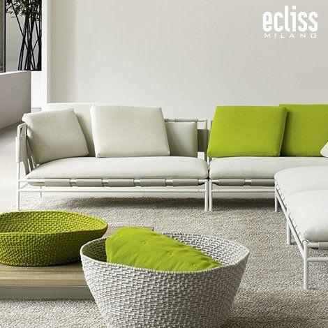 Canvas By Paola Lenti Outdoor Sofa Design Furniture Green Home Decor