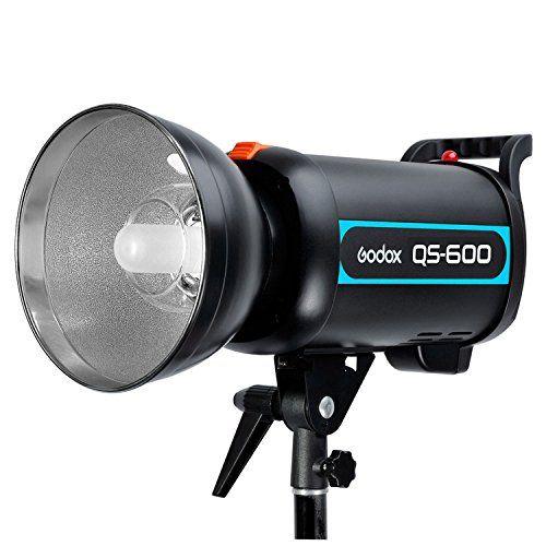 Godox Qs 600 600w 600ws Speed Studio Strobe Flash Light Lighting