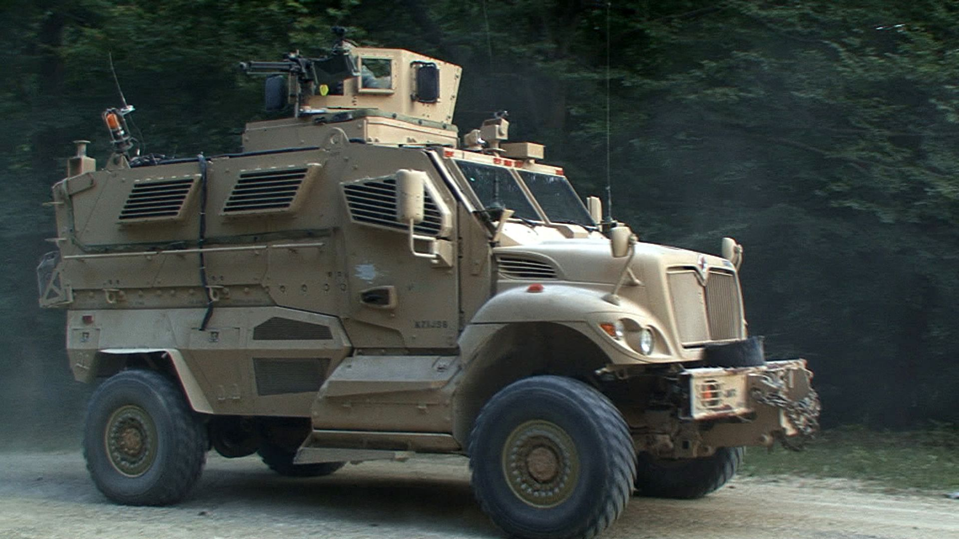 Biggest & baddest: US military vehicles | The interior isn\'t as ...
