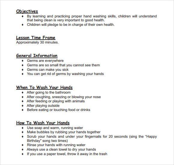 Toddler Lesson Plan Templates Template Pinterest Lesson Plans