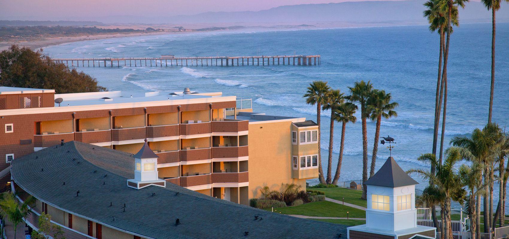 Hotel In Pismo Beach Seacrest Oceanfront Ca