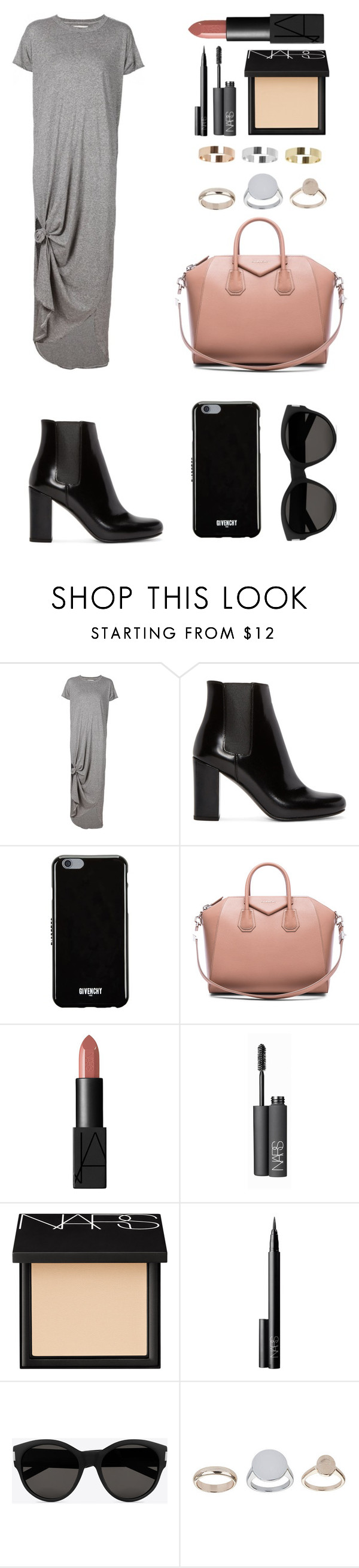 """Untitled #1943"" by ordinarydays ❤ liked on Polyvore featuring The Great, Yves Saint Laurent, Givenchy, NARS Cosmetics, Topshop, women's clothing, women, female, woman and misses"