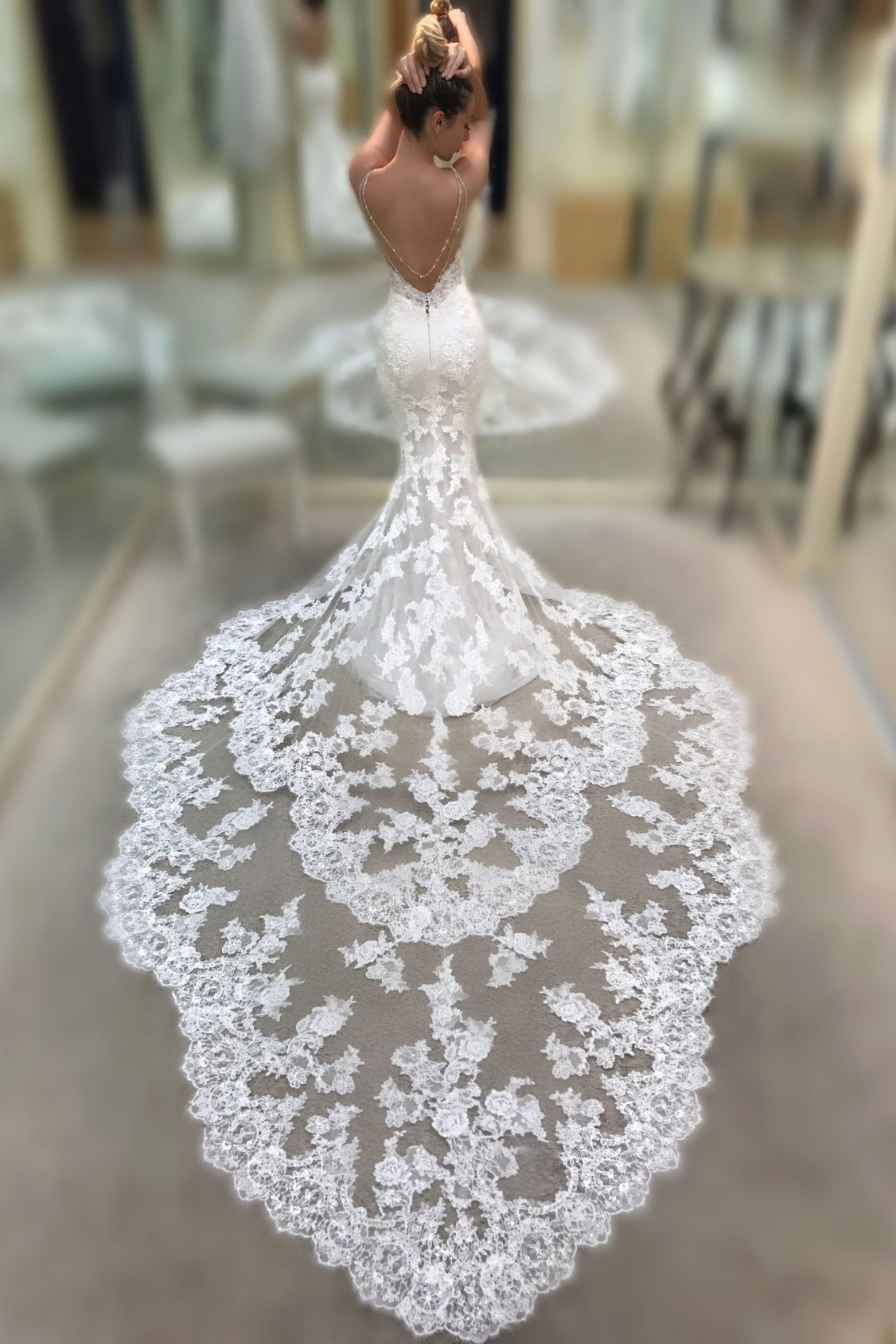 20 Stunning Trumpet Mermaid Wedding Dresses Enzoani Wedding Dresses Princess Wedding Dresses Backless Wedding [ 4536 x 3024 Pixel ]