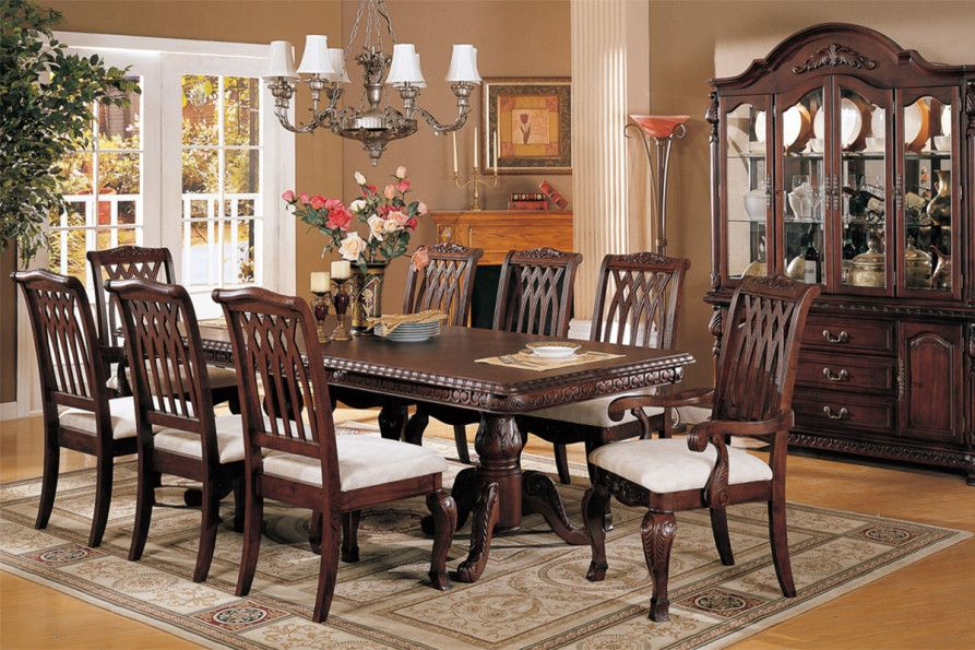 Mahogany Dining Room Furniture A Timeless Beauty With An Imperial Look Dining Room Furniture Styles Formal Dining Room Furniture Formal Dining Room Sets