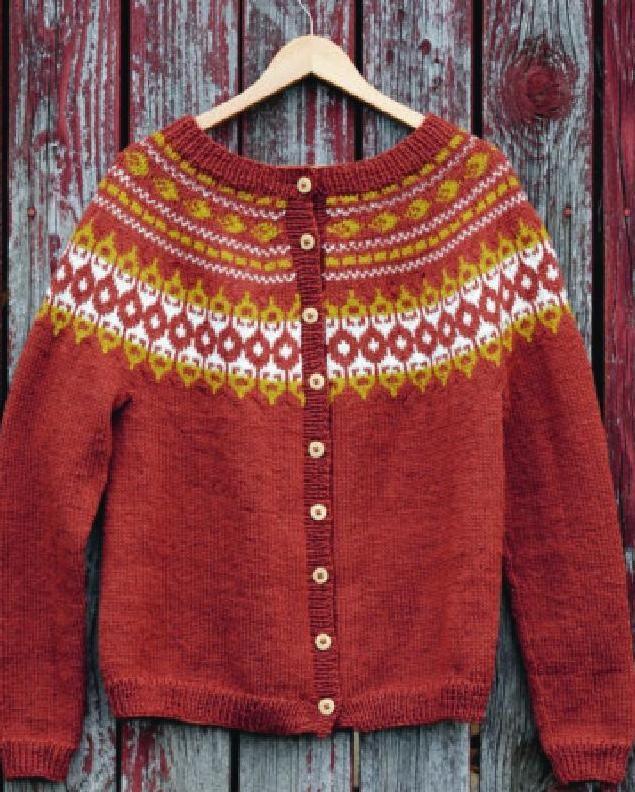 Tema 46 Norske Ikoner Voksen Fair Isles Knit Fashion And Knit Crochet