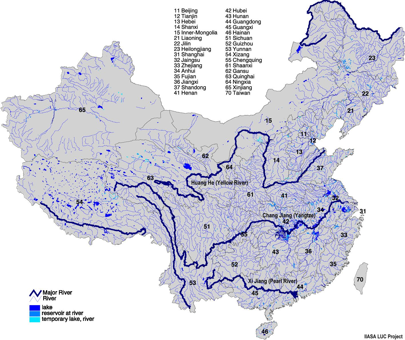 rivers of china map rivers of china map