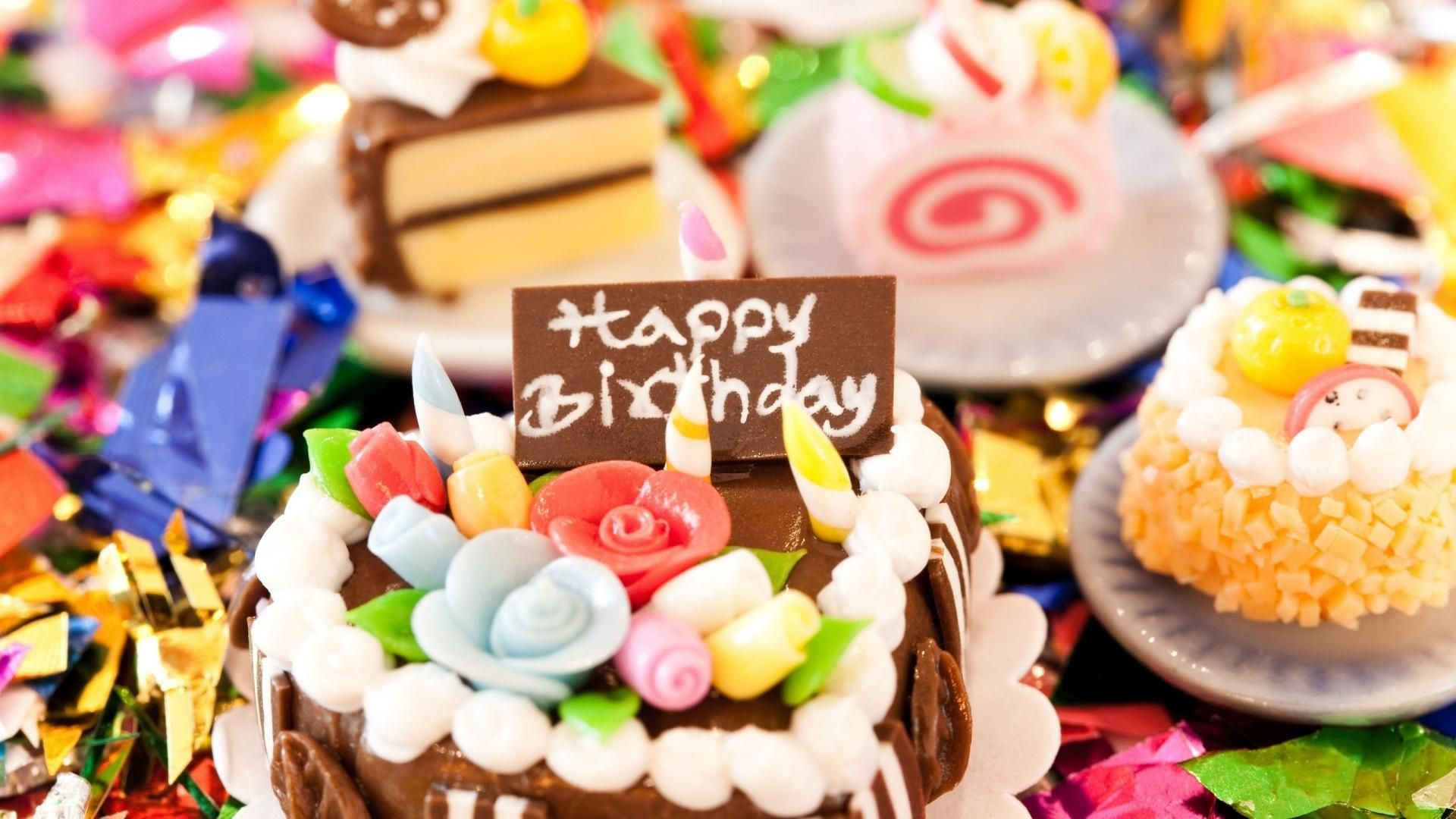 Happy Birthday Cake Pictures HD Wallpaper