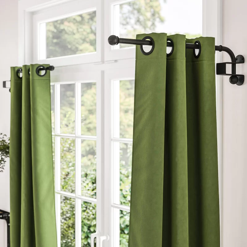 Zipcode Design Verdell Curtain Swing Arm Reviews Wayfair In 2020 Curtains Curtain Rods Cafe Curtain Rods