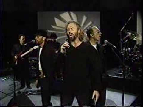 Starts Out With David Foster Talking About The Bee Gees And Goes Into A Live Performance Of I Surrender Bee Gees Live Bee Gees Bee Gees Live Gees