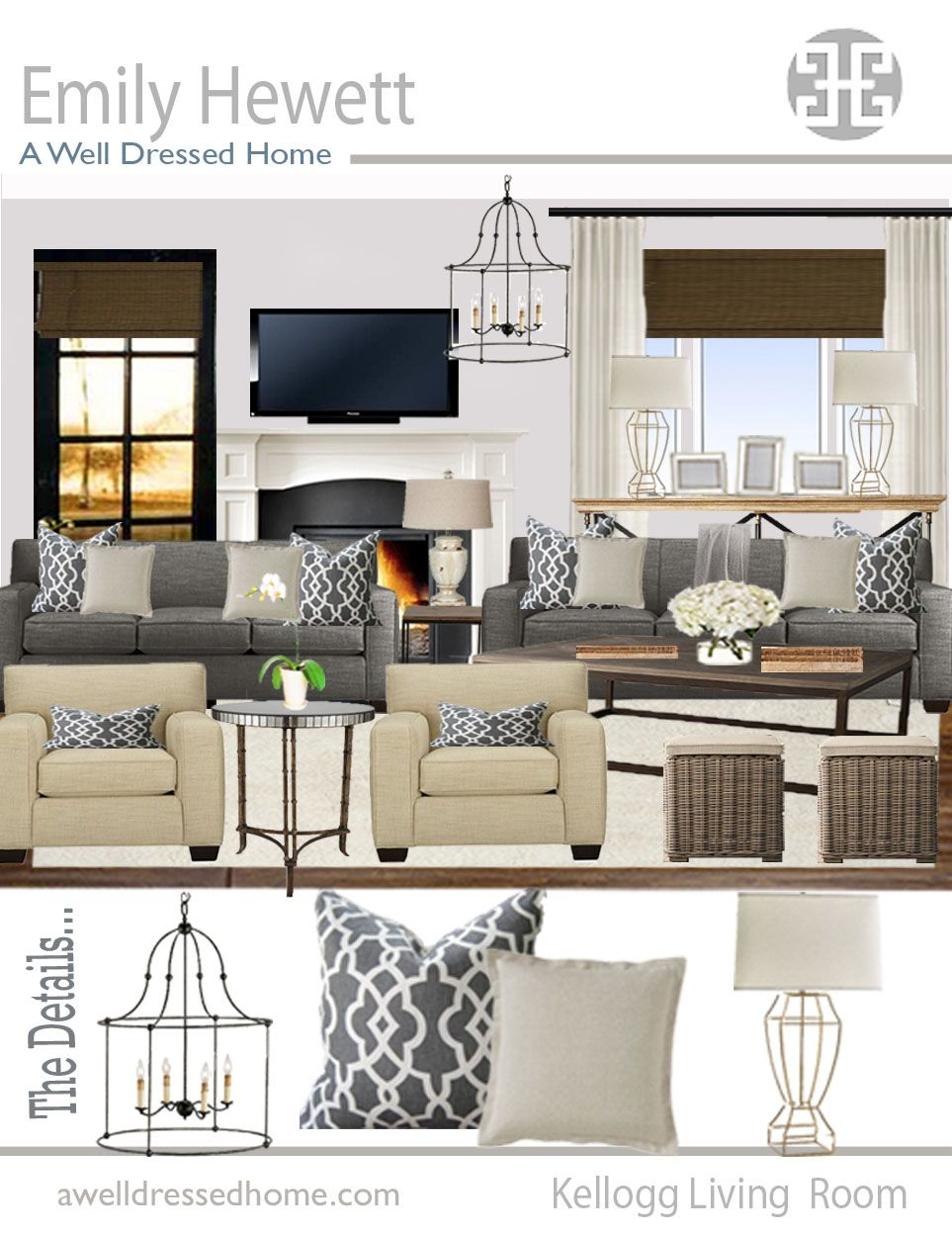 Design A Living Room Online For Free Unique Awdh Odb Kellogg Living Room Online Design Boardawdh  For The Design Inspiration