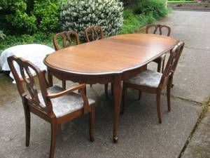 Portland For Sale Solid Cherry Dining Set Craigslist Dining