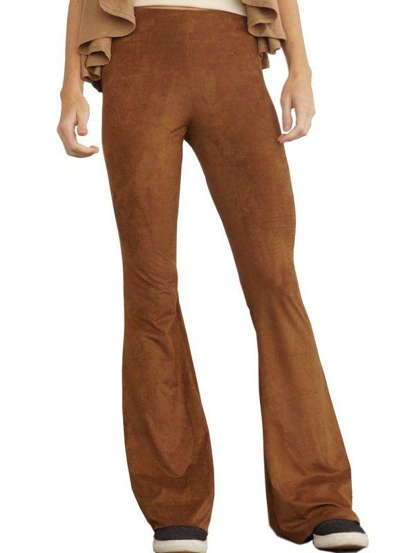 11d5b8fd4 Calça Flare Malha Suede - Handmade - moda sob medida ou pronta entrega