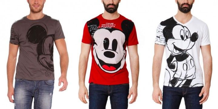 Desigual X Disney Spring Summer 2013 Michael 84 Fashion Teenage Mens Tops Desigual