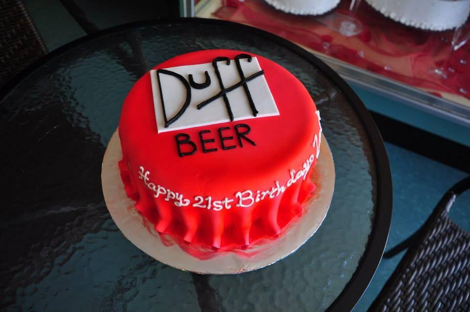 The Simpsons Duff Beer Bottle Cap