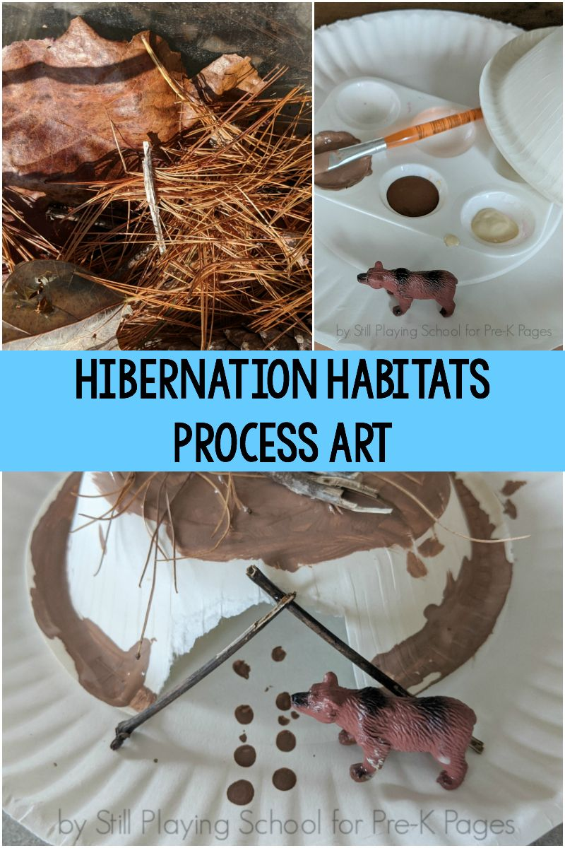 Hibernation Habitat Process Art Pre K Pages Hibernation Preschool Activities Hibernation Preschool Crafts Preschool Art Activities [ 1200 x 800 Pixel ]