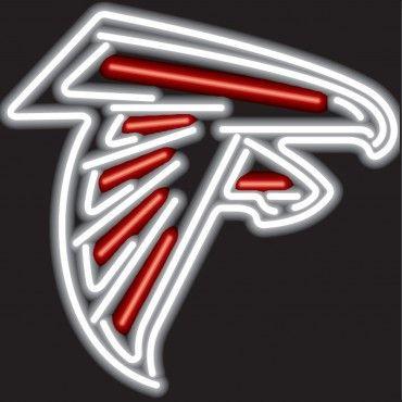 Neon Sign Atlanta Falcons Atlanta Falcons Logo Falcons Atlanta Falcons