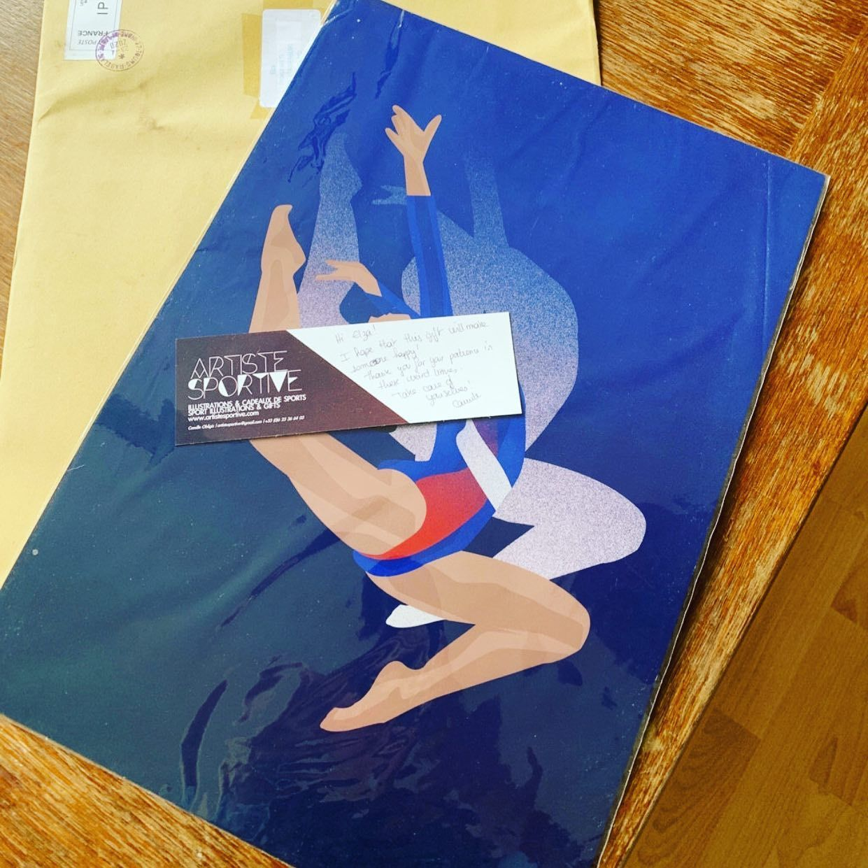 When your customer from Netherlands send you this picture ?. This order was v...