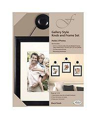 Fetco Home Decor Felda Gallery Style Knob And Frame Set Rowhouse