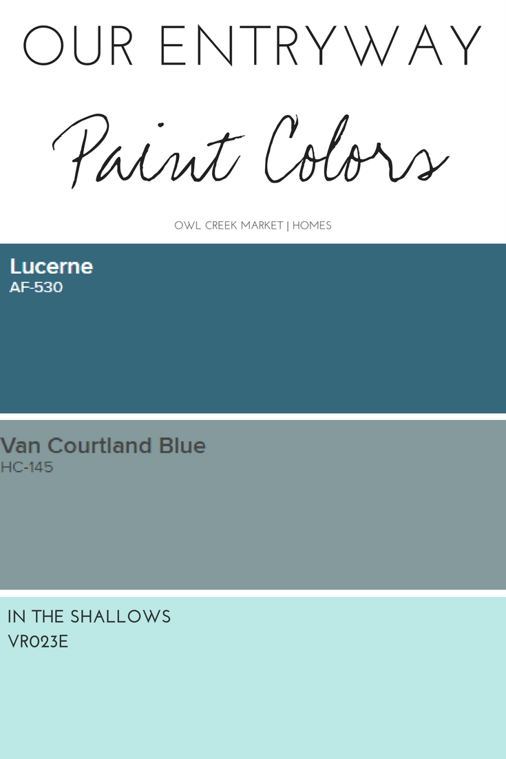 Our Entryway Paint Color | Entryway paint, Dream house design and ...