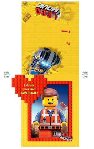 Free The LEGO Movie Coloring Pages Face Masks And Valentines Day Printables