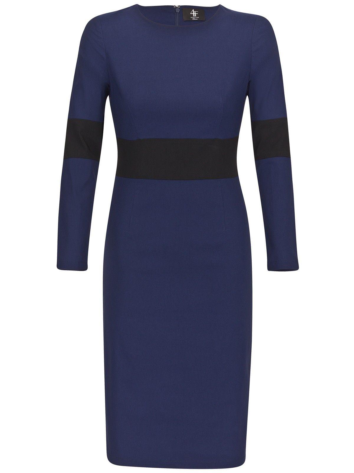 Etuikleid NARIO, dunkelblau/ schwarz   Abendkleider online ...