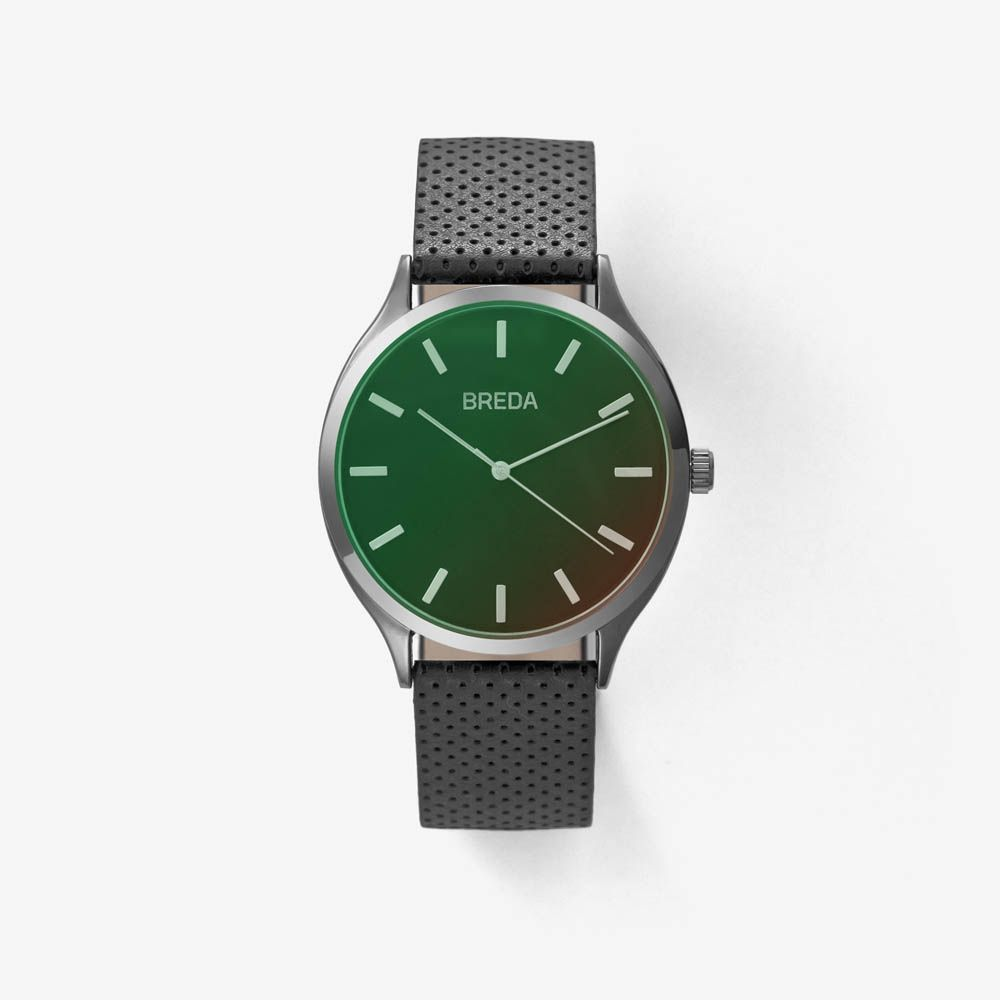 Men's  Meter Watch In Black   Breda Watches