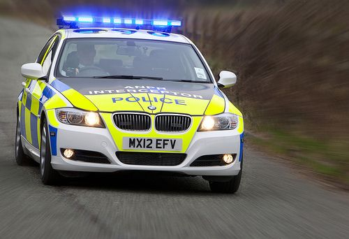 A Greater Manchester Police S New Anpr Interceptor Vehicle At