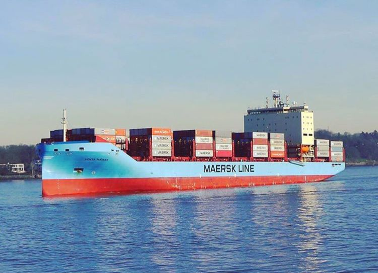 Pin by Mad Shockz on Venta maersk Boat, Cargo shipping