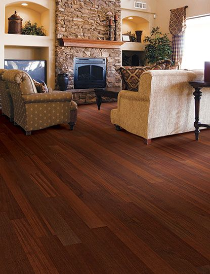 Exotic Collection Brazilian Cherry Home Legend Hardwood In Living Room