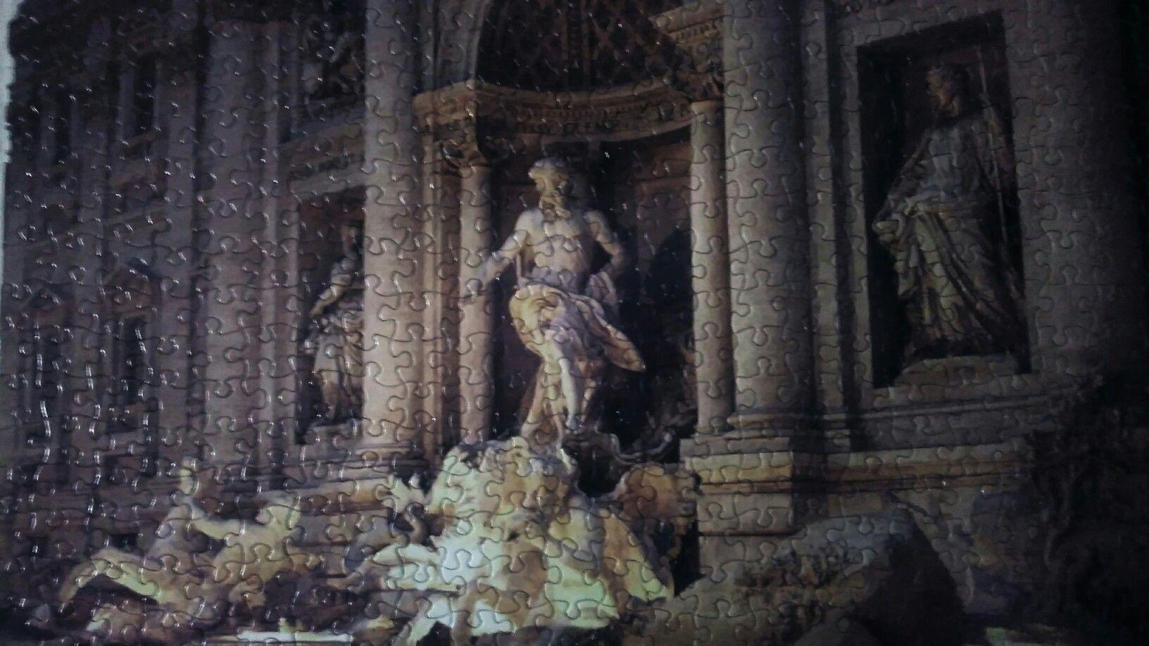 Monumentos históricos.  Fontaine de Trevi. 500 peças - Sure-Lox. maio 2016. 48.26 cm × 35. 56 cm. The Canadian Group. 2007