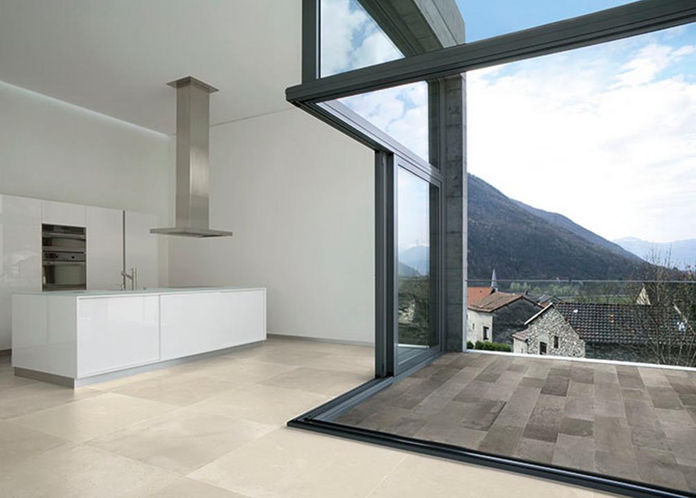 Savoia Innova Interieur Ecru 52x52 Exterieur Ferro 21 6x43 5 Et 21 6x21 6 White Modern Kitchen Modern White Kitchen Cabinets European Kitchen Cabinets