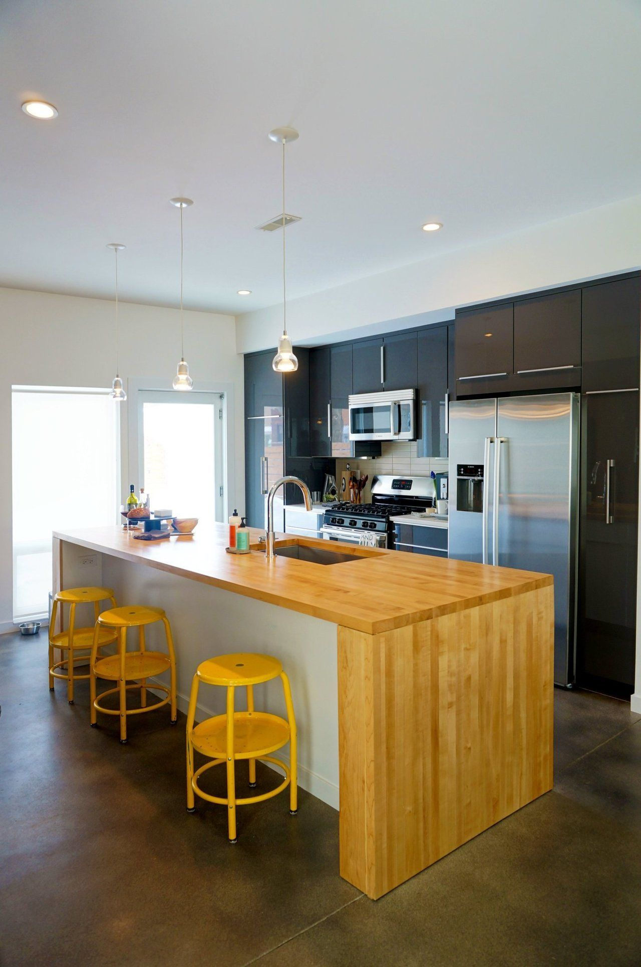 Best Refined Industrial Modern Style Home Kitchens Beautiful 400 x 300