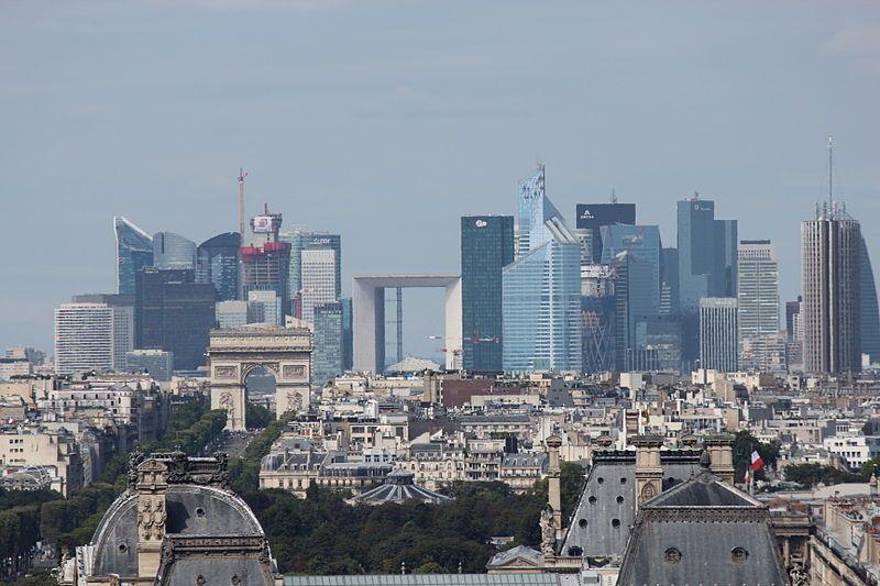 La Défense: La Défense is the prime high-rise office district of Paris. Many of Paris's tallest buildings can be found here.
