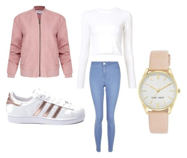 """""""Back to school n°1"""" by chanelikoli on Polyvore featuring New Look, Proenza Schouler, Helmut Lang, adidas and Nine West"""
