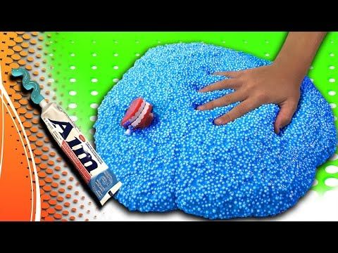 How to make Fluffy Slime- NO LIQUID STARCH, BORAX OR DETERGENT! You will