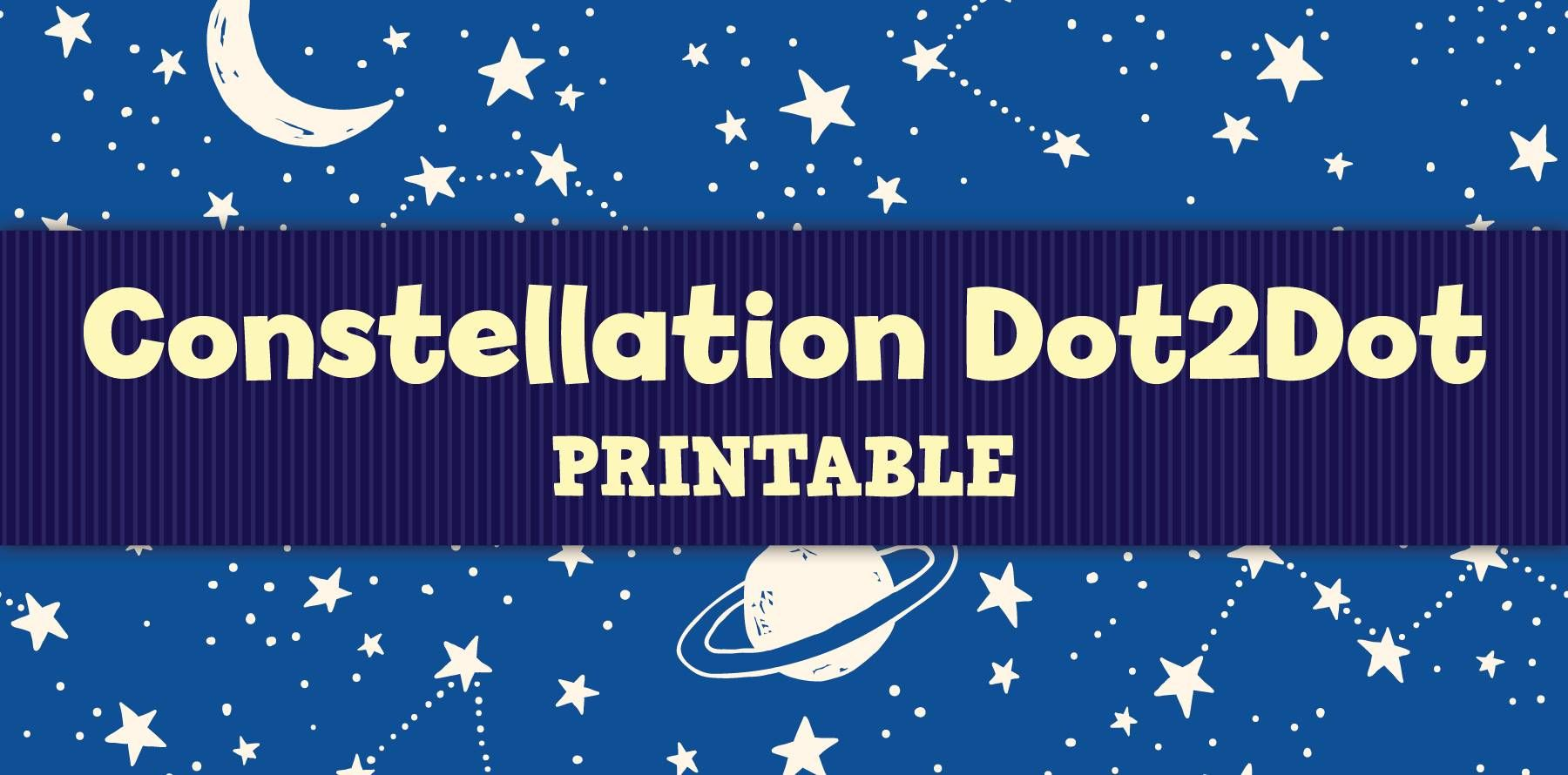 Free Constellation Activity Sheet For Kids In
