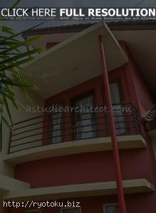 Warna Cat Rumah Minimalis Merah Outdoor Indoor003 Gambar Rumah