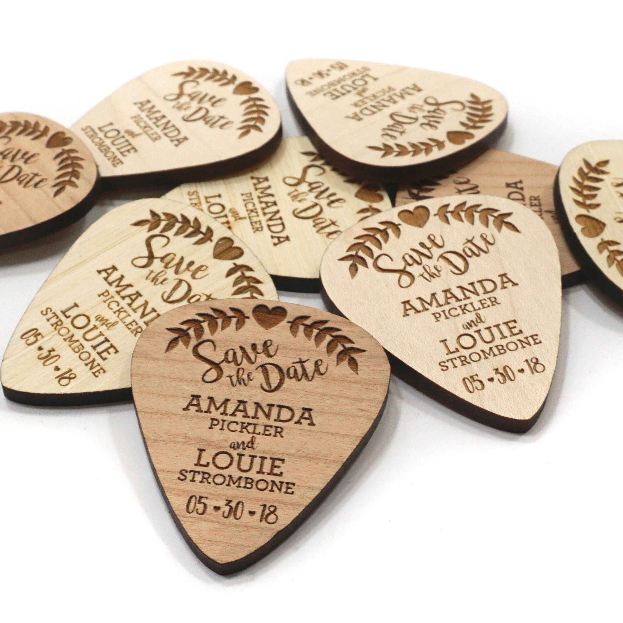 Verbazingwekkend Wood Save the Date Magnets 2x3 inch Personalized Wedding Save the BY-26