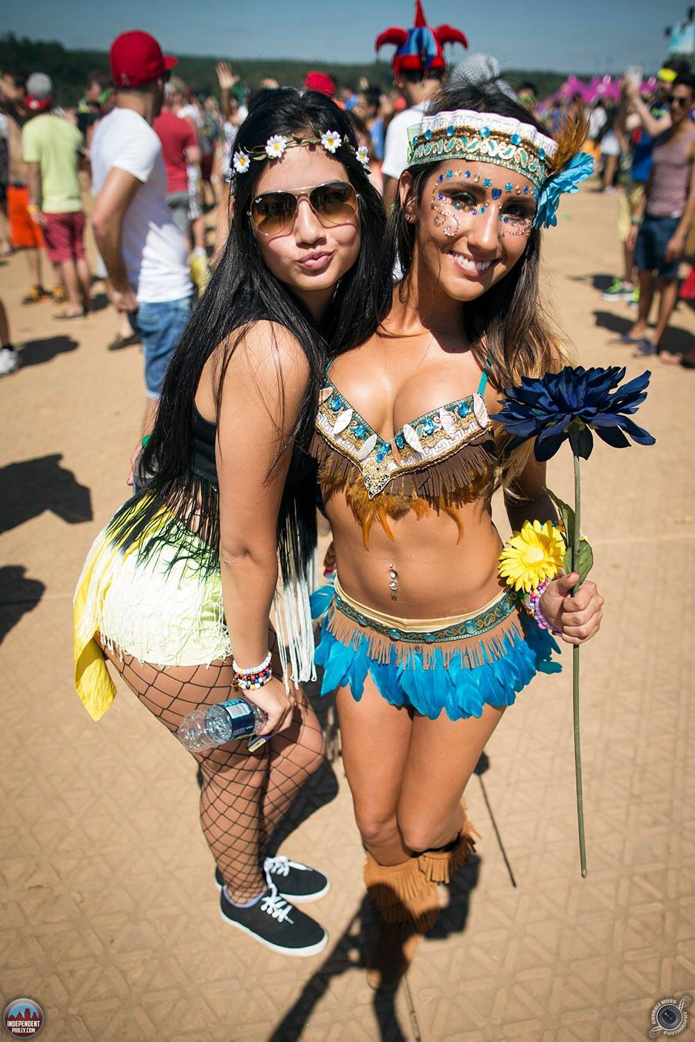 fd3d7b9aa739a8 Red Velvet Voyage EDM   Rave FASHION Inspirations. Feathers and Indian  inspired raver girl bikini costume  choralemilesphotography  TomorrowWorld