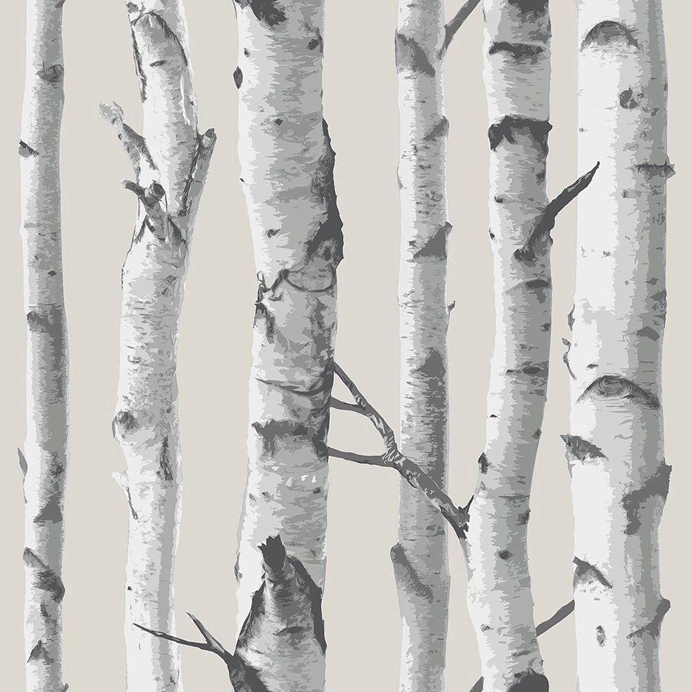 Nuwallpaper Birch Tree Vinyl Strippable Wallpaper Covers 30 75 Sq Ft Nu1650 The Home Depot In 2021 Birch Tree Wallpaper Birches Wallpaper Tree Wallpaper