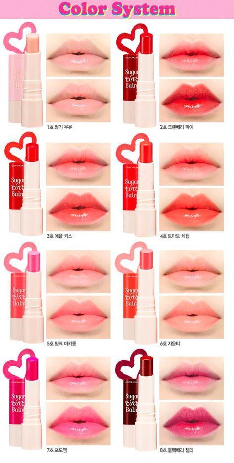 korean makeup balm tint lips lip etude sugar
